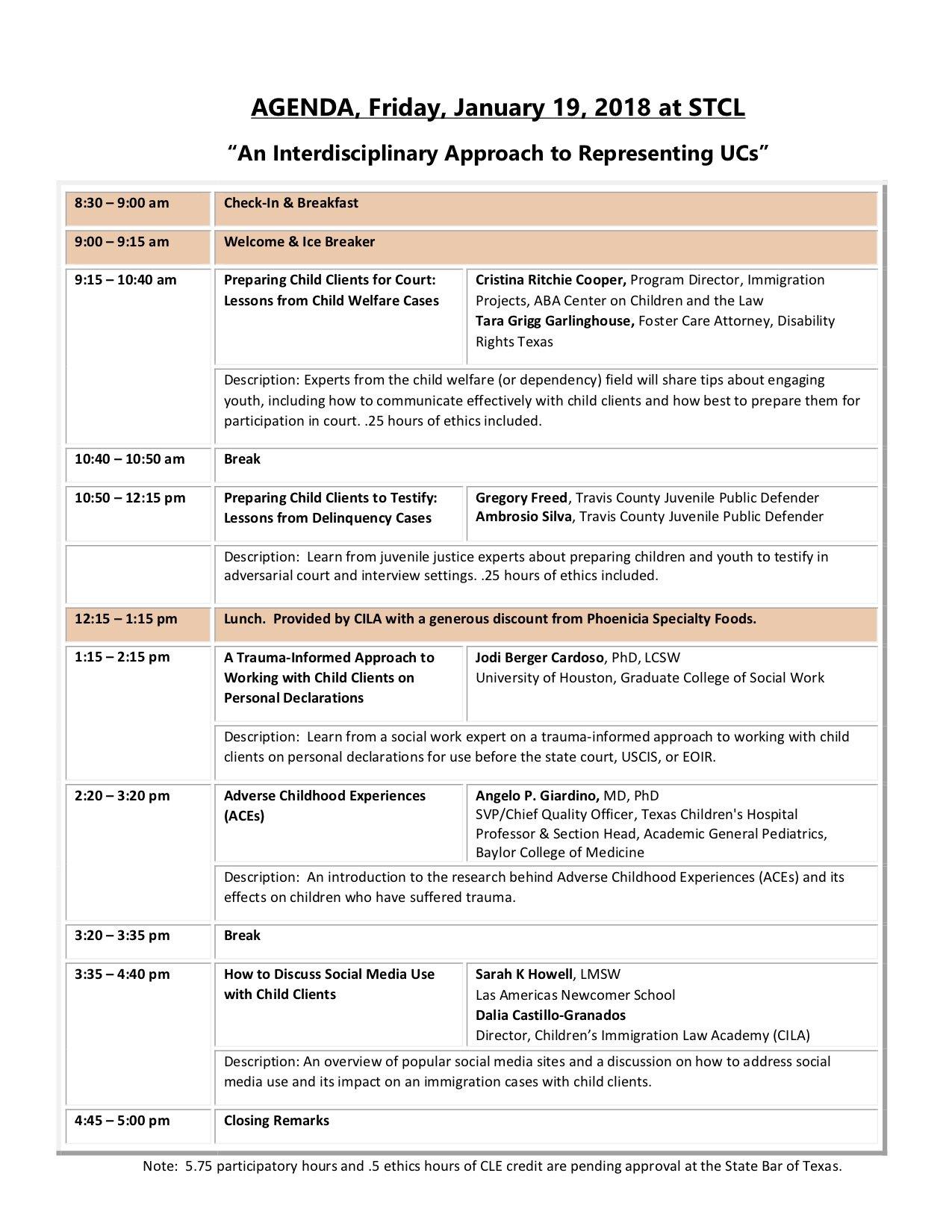 Jan-19-Agenda